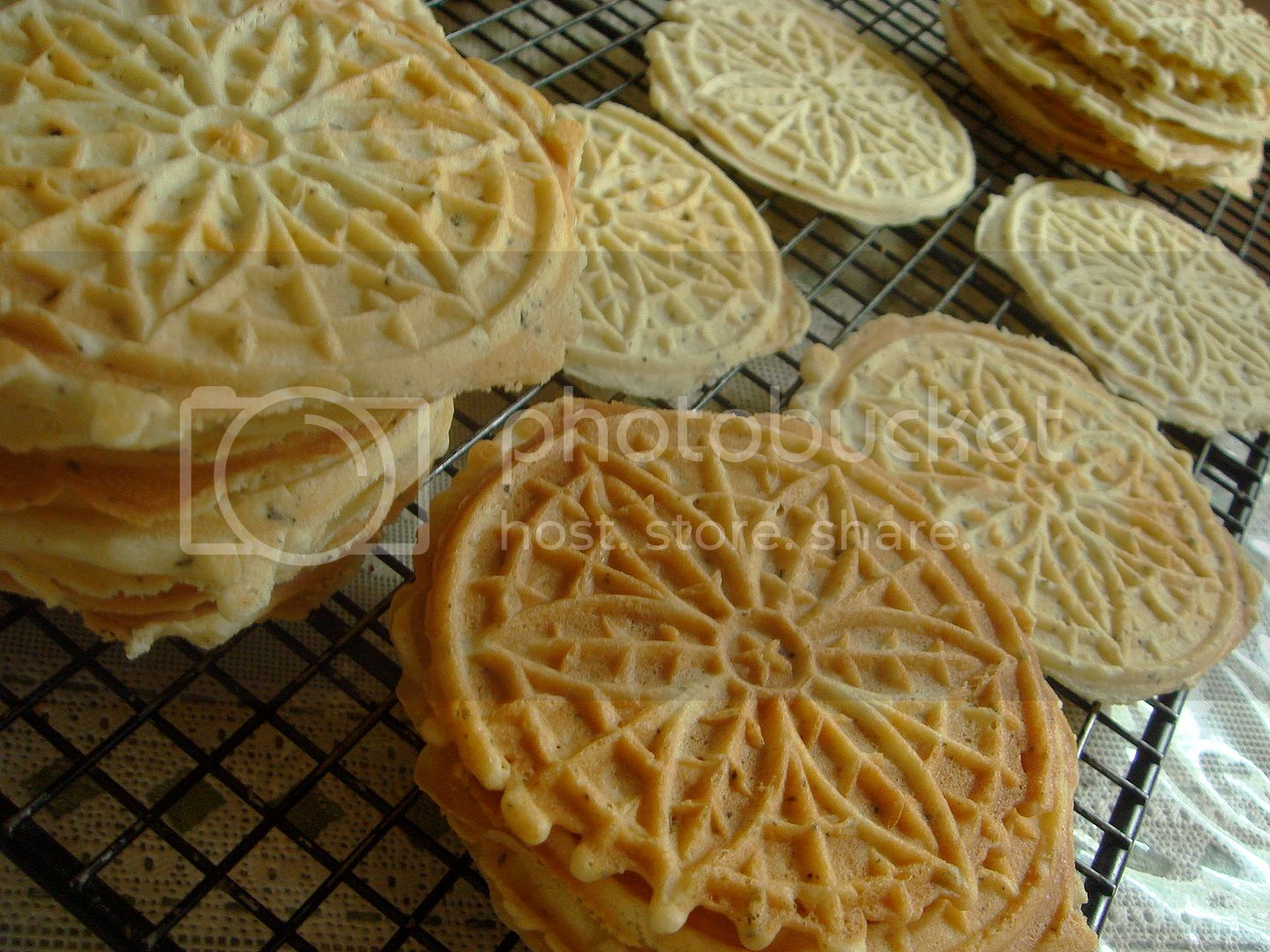 yummy pizzelles
